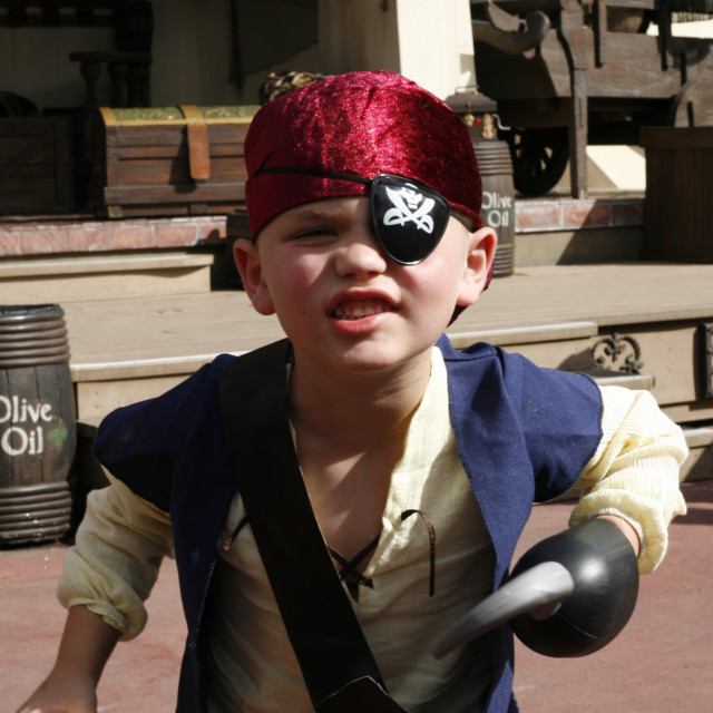 """""""The Pirate Boy"""" stock image"""