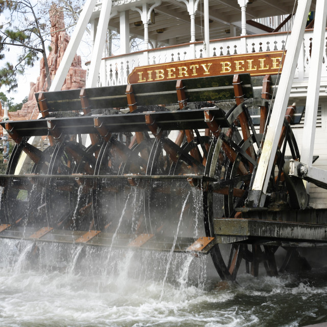 """""""Liberty Belle Charter Boat"""" stock image"""