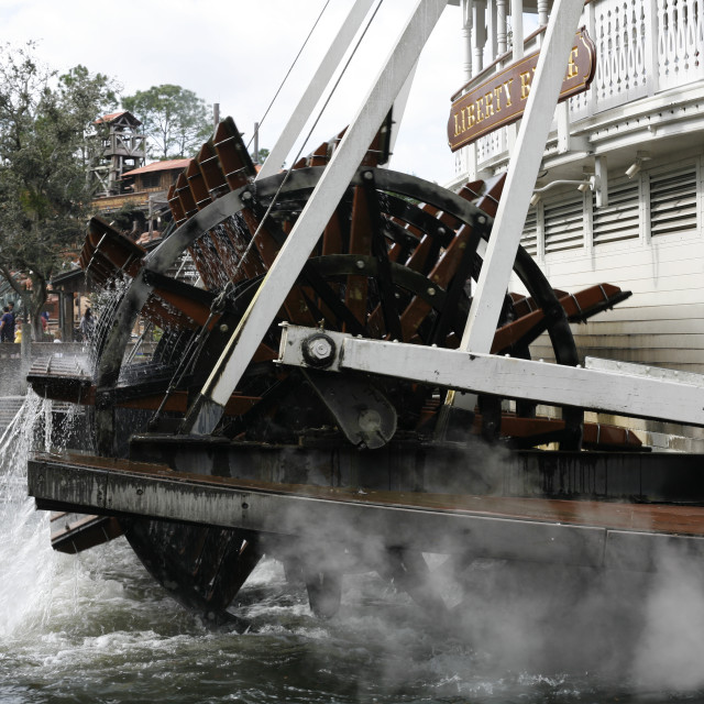 """""""Classic Riverboat"""" stock image"""