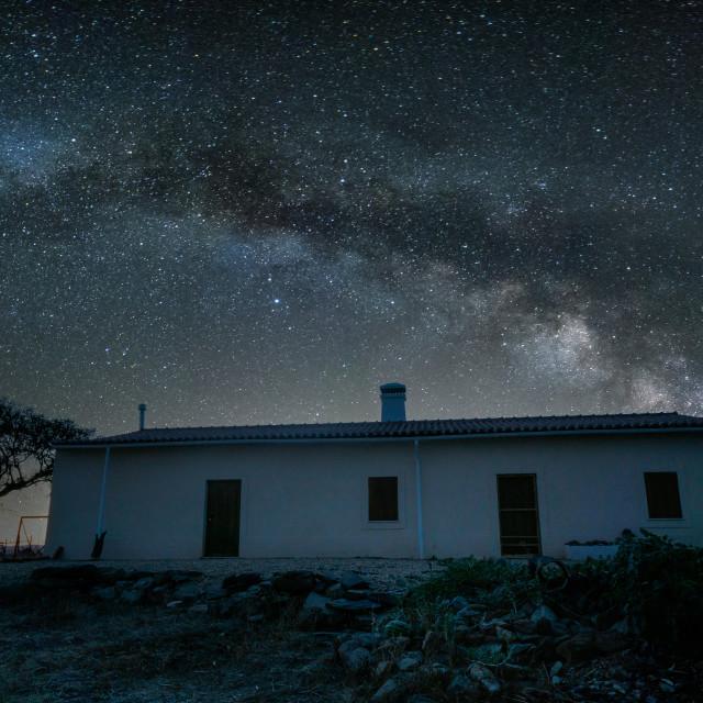 """Milky Way Monte"" stock image"