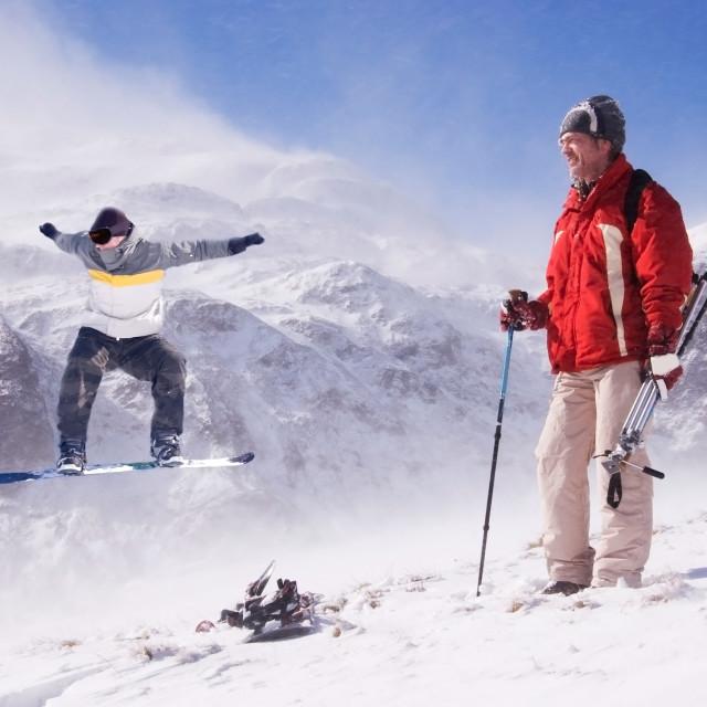 """Winter Sports"" stock image"