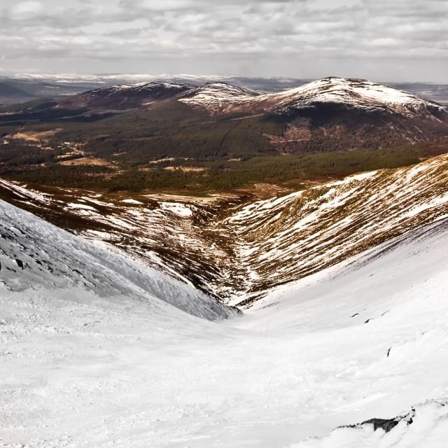 """Cairngorm, Scotland"" stock image"