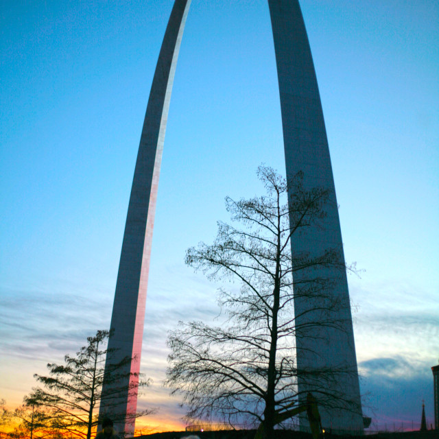 """""""The Gateway Arch"""" stock image"""