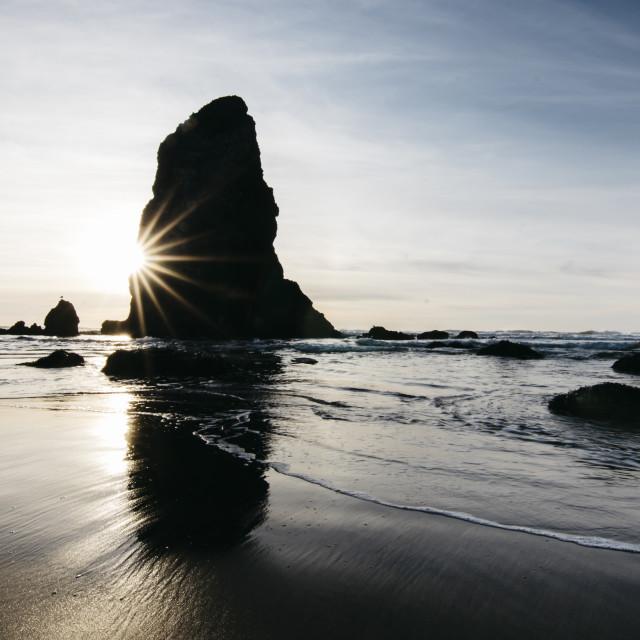 """Cannon Beach"" stock image"