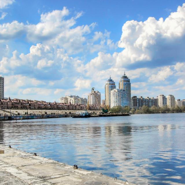 """Obolon District, Kyiv, Ukraine"" stock image"