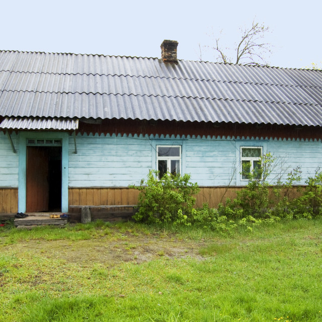 """Village House in Ukraine"" stock image"