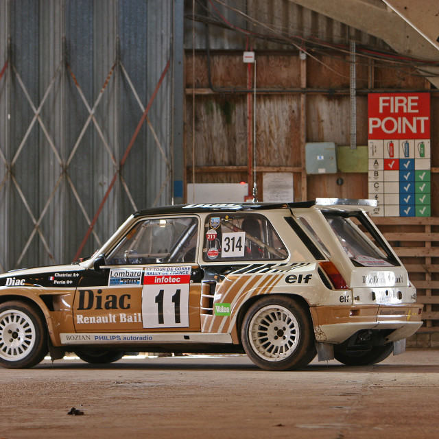 """Renault 5"" stock image"