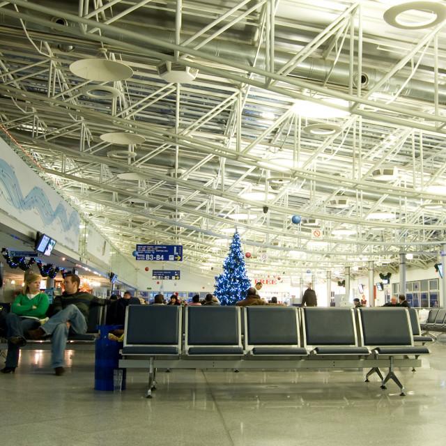"""Boryspil International Airport, Kyiv, Ukraine"" stock image"