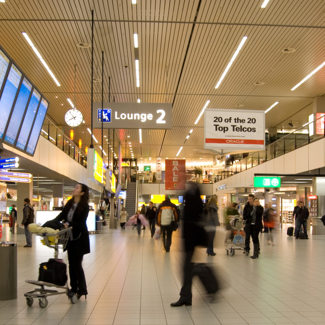 """""""Amsterdam Schiphol Airport"""" stock image"""