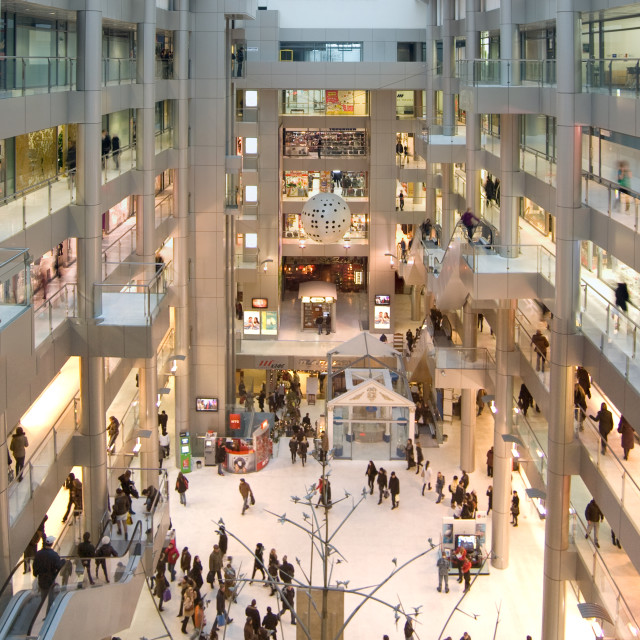 """Shopping Mall, Odessa, Ukraine"" stock image"
