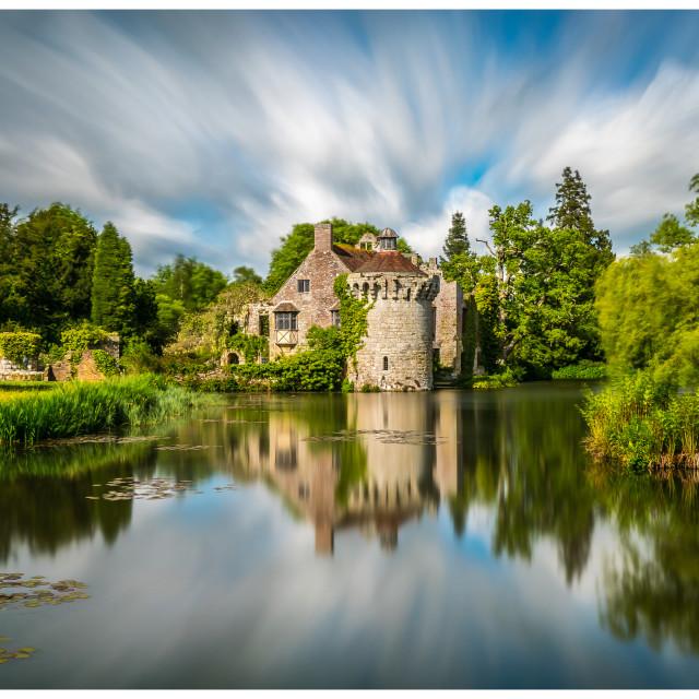 """""""Scotney Castle"""" stock image"""