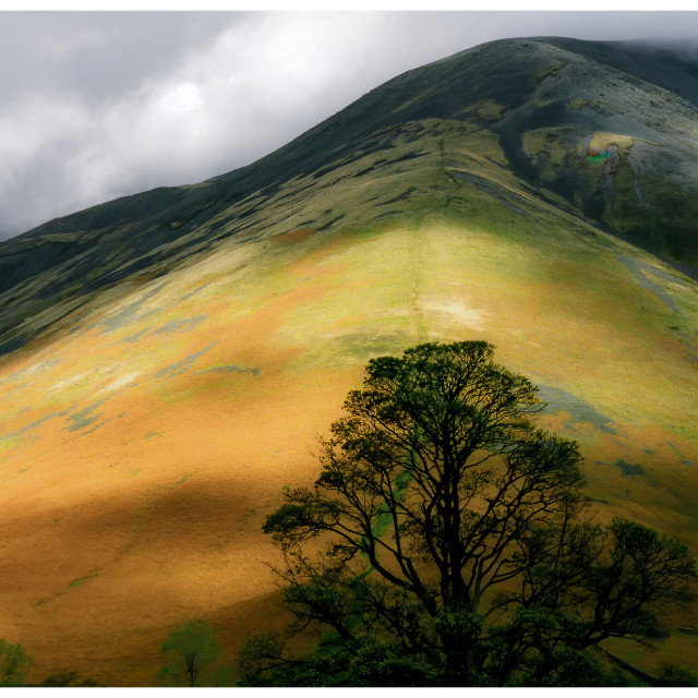 """""""Wast Water"""" stock image"""