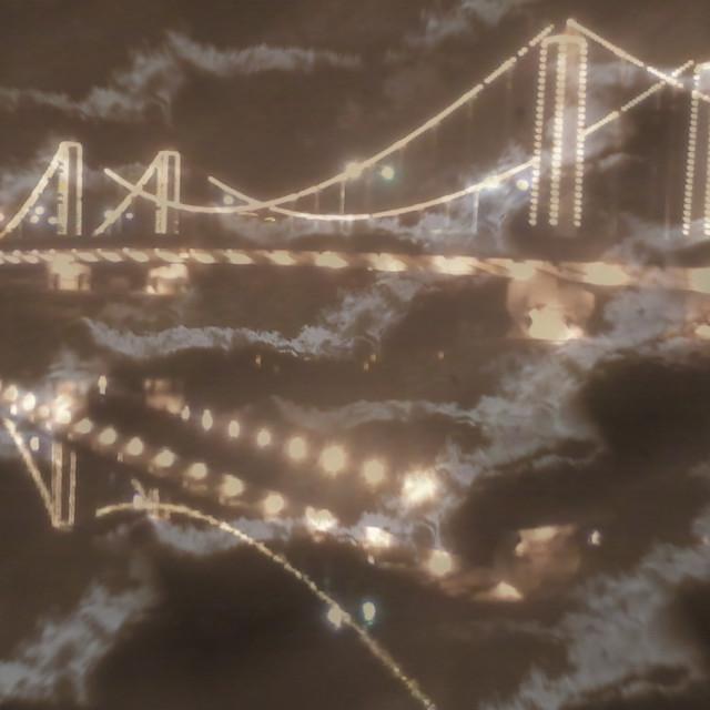 """""""Double bridge"""" stock image"""
