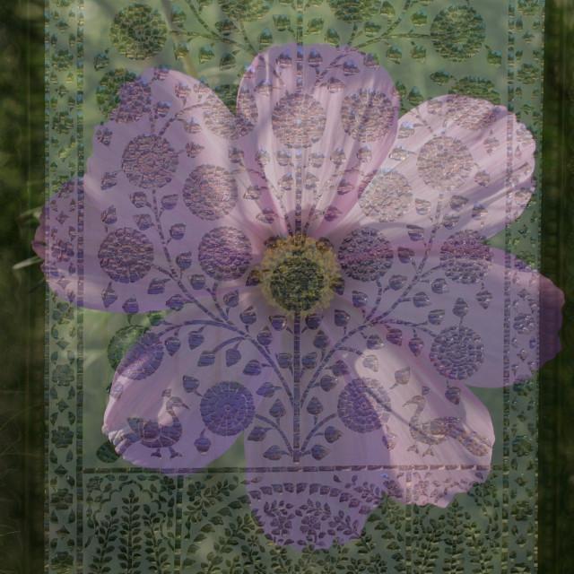 """""""Garden door ornament"""" stock image"""