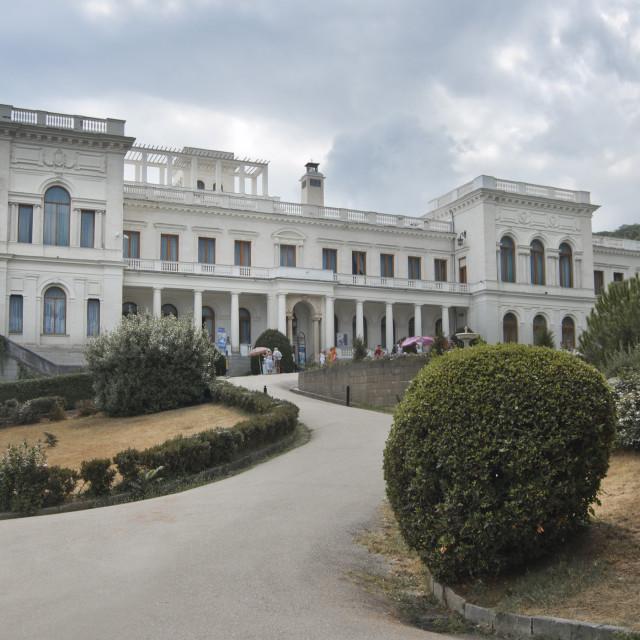 """Livadia Palace, Crimea, Ukraine"" stock image"