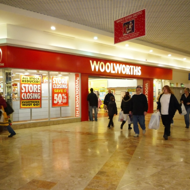 """Woolworths Store"" stock image"