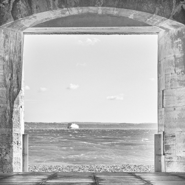 """Isle of Wight."" stock image"