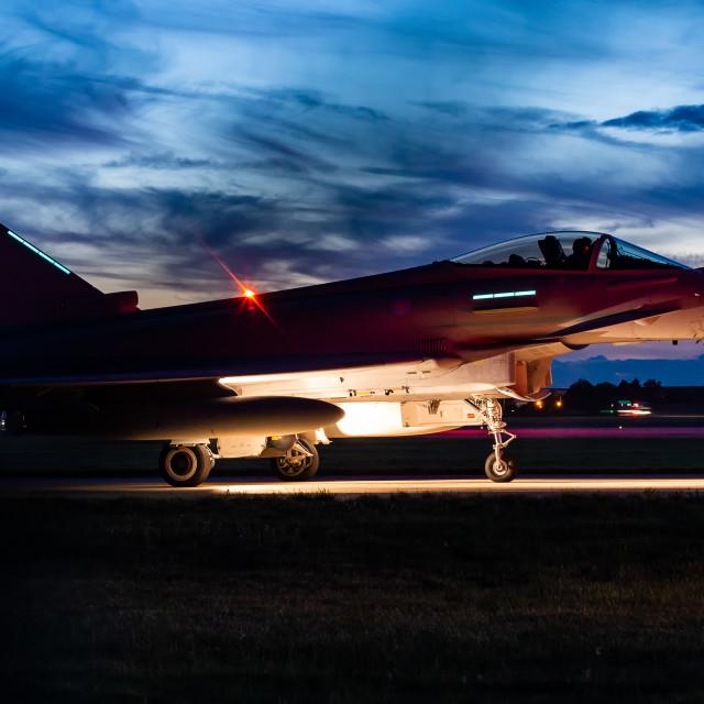 """Night Typhoon"" stock image"
