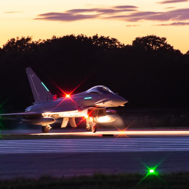 """Night Flying"" stock image"