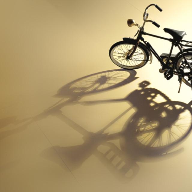 """Classic Bike"" stock image"