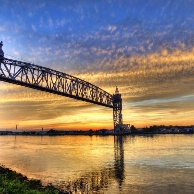 """""""Cape Cod Canal."""" stock image"""