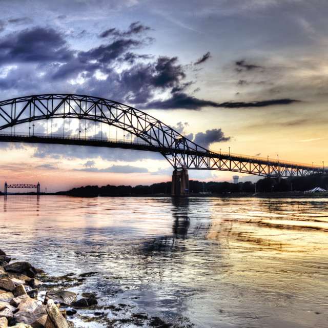 """""""Cape Cod Canal 2"""" stock image"""
