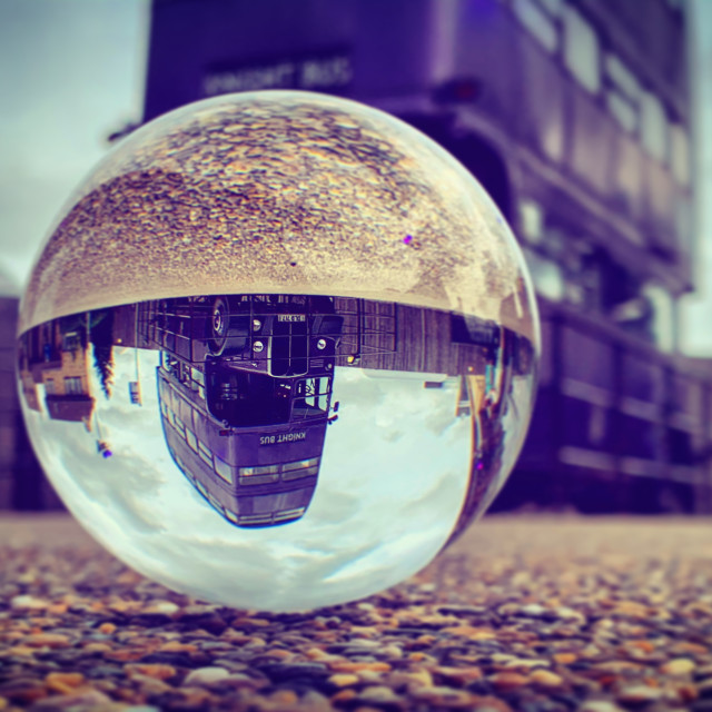 """Knight Bus Ball"" stock image"