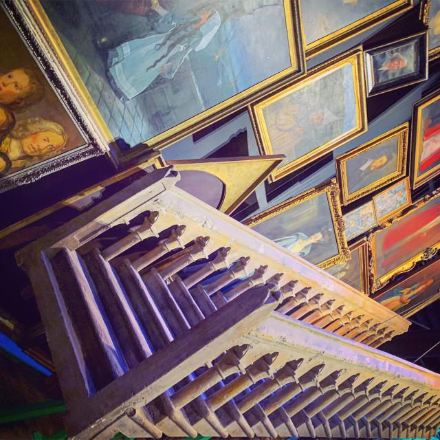 """Hogwarts Moving Stairway"" stock image"