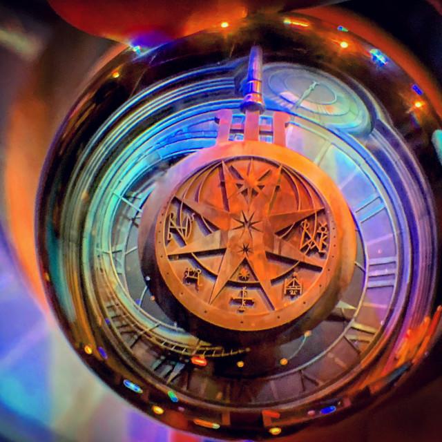 """""""Hogwarts Pendulum"""" stock image"""