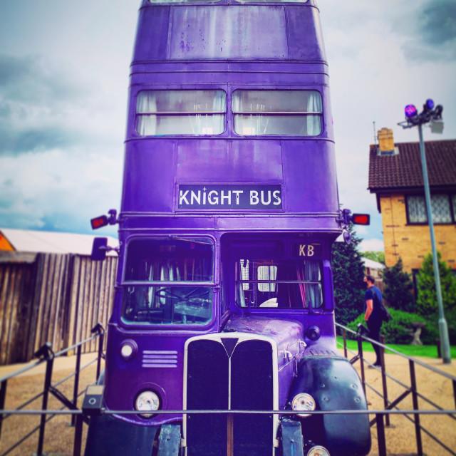 """""""Knight Bus"""" stock image"""