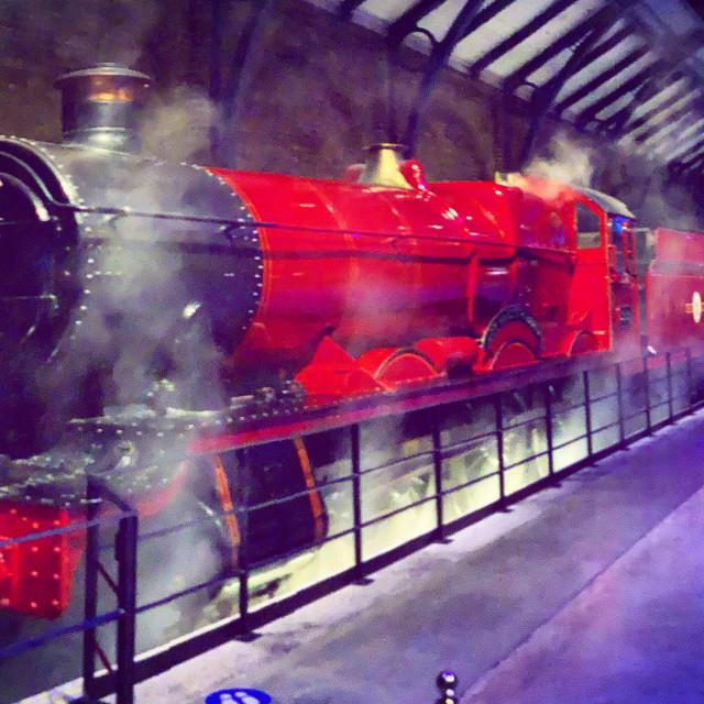 """""""Hogwarts Express Train"""" stock image"""