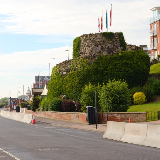 """""""Ross Castle in Cleethorpes"""" stock image"""