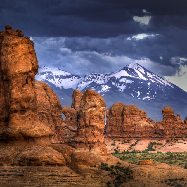 """Arches National Park, Utah"" stock image"