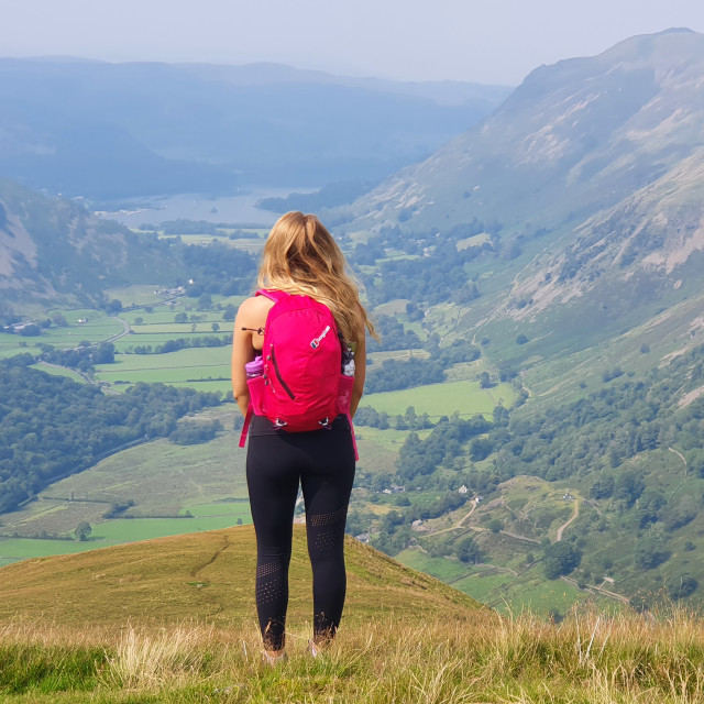 """The View from Hartsop Dodd"" stock image"