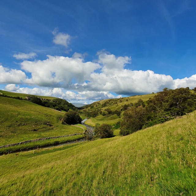 """""""Smardale in the Eden Valley"""" stock image"""