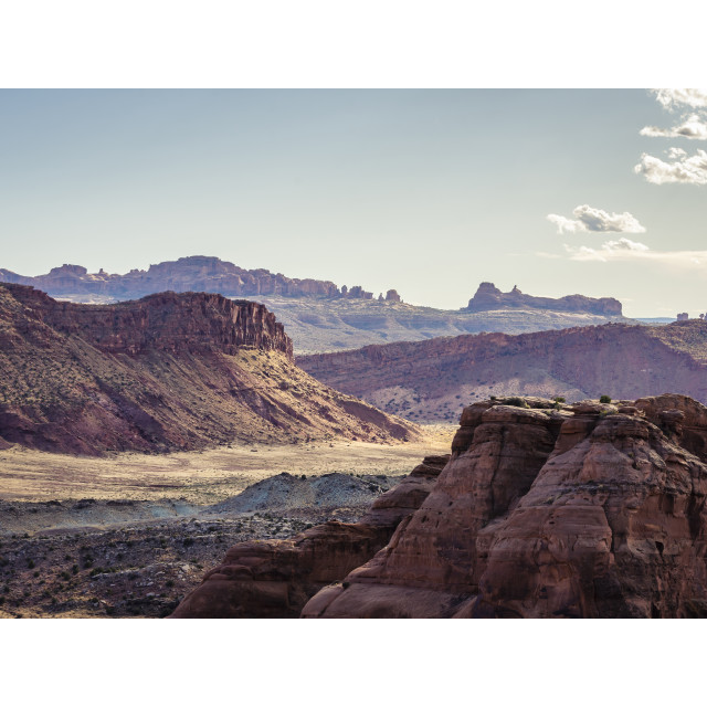 """Desert Layers"" stock image"