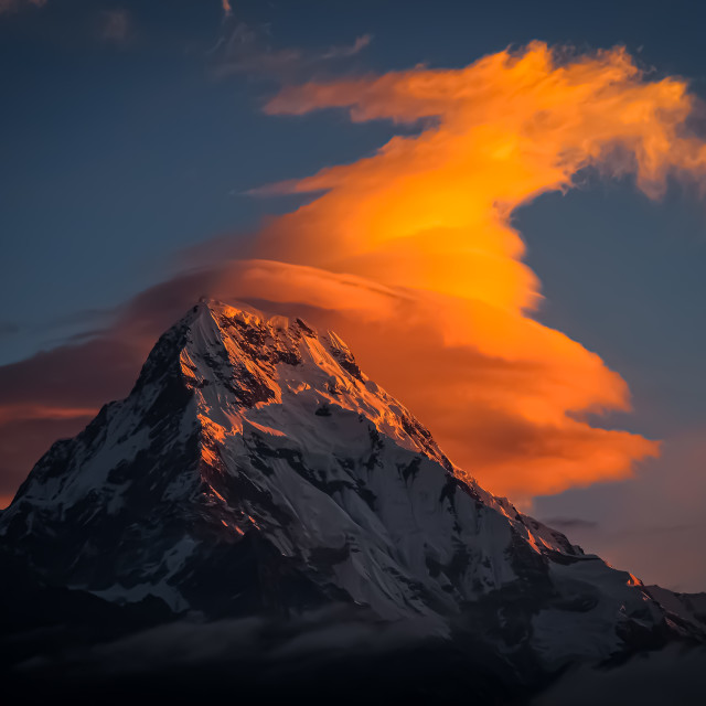 """Precious Peak"" stock image"