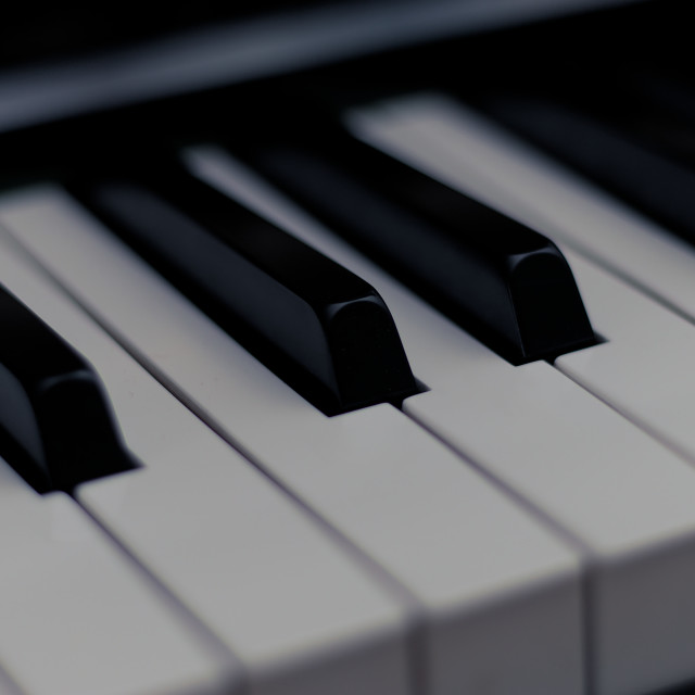 """Piano Keys"" stock image"