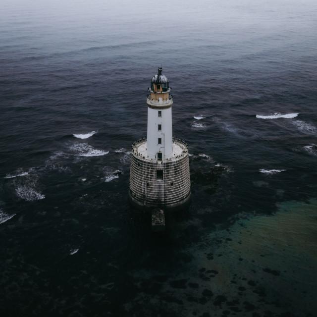 """Rattray Head Lighthouse"" stock image"