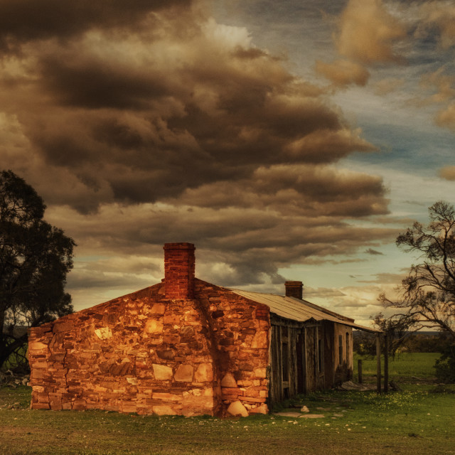 """""""Stone House"""" stock image"""