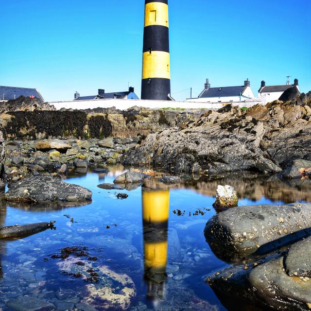 """St John's Lighthouse"" stock image"