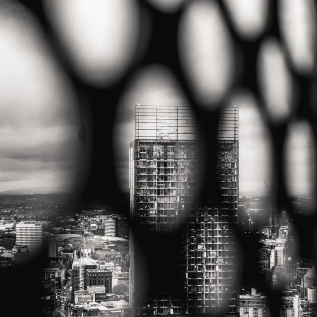 """Beetham Tower"" stock image"