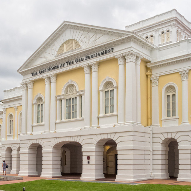 """The Arts House - Singapore"" stock image"