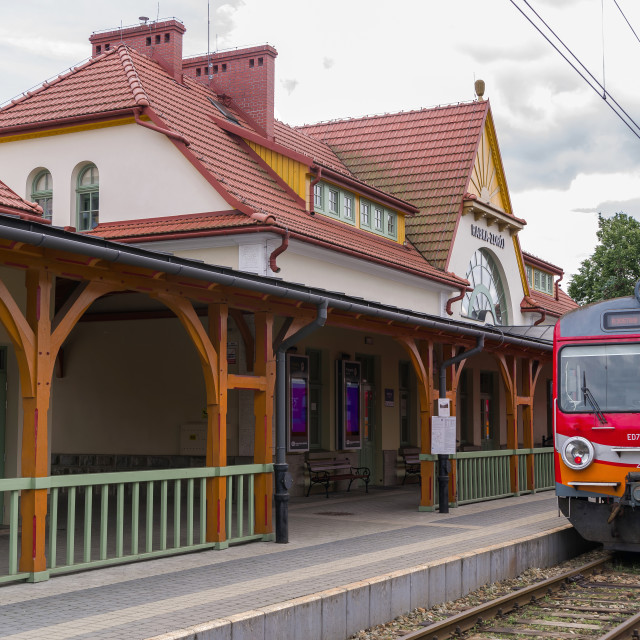 """Rabka Zdroj railway station"" stock image"