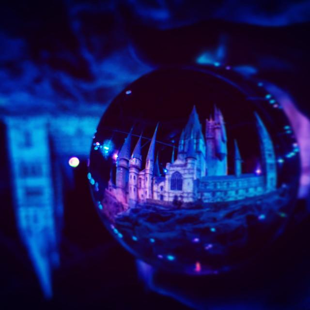"""Dark Hogwarts Lens Capture"" stock image"