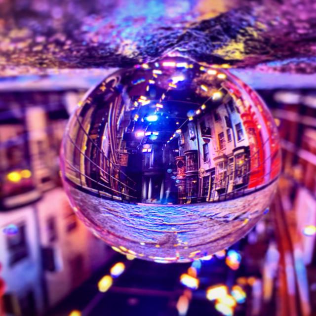 """Diagon Lens Ball"" stock image"