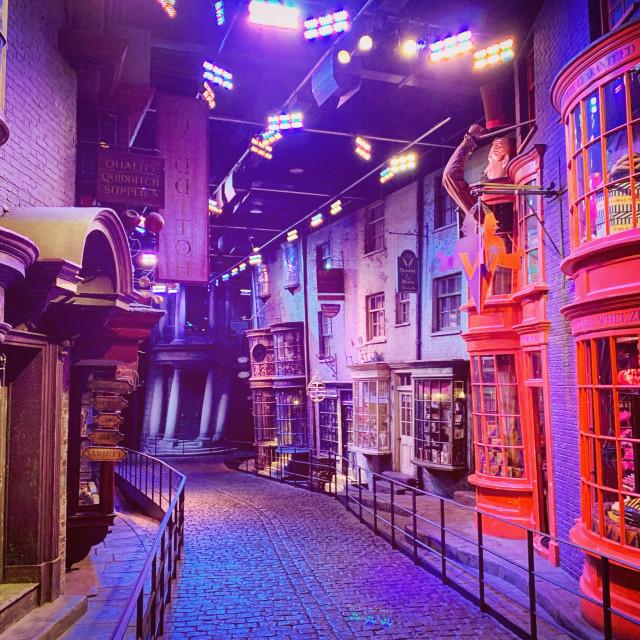 """Diagon Alley At Warner Studios"" stock image"