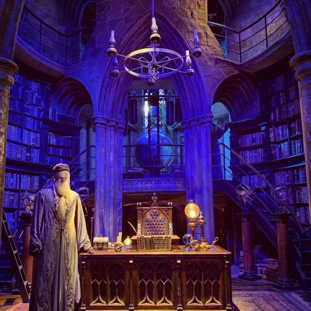 """Dumbledore's Study"" stock image"