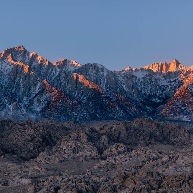 """California eastern sierra"" stock image"