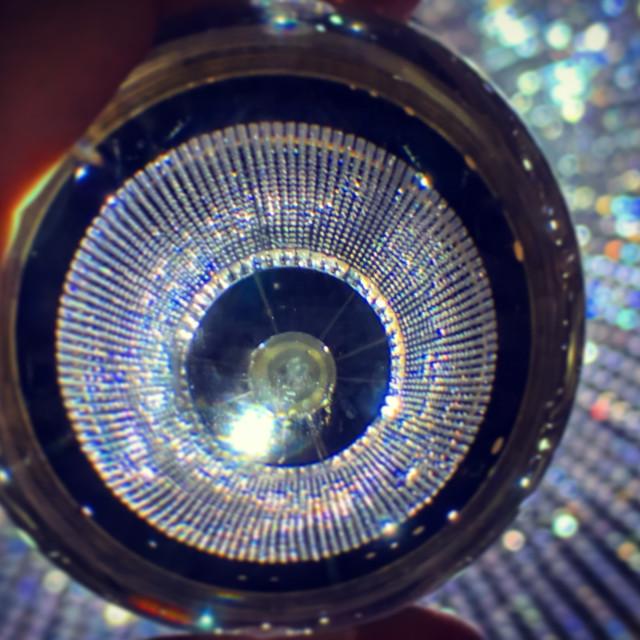 """Chandelier Lens Ball Capture"" stock image"